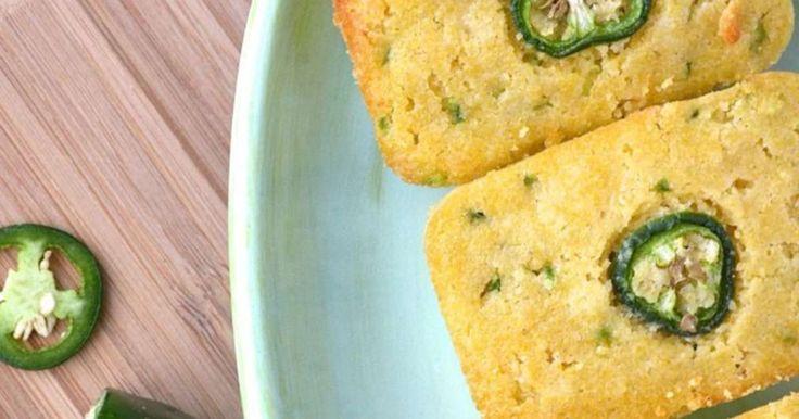 Cornbread au jalapeño. Pain de maïs.. La recette par Catherine Cuisine .