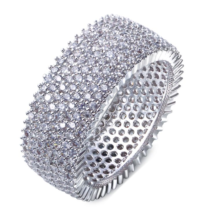 Find More Rings Information about 2016 New Trendy Ring Platinum Plated circle Shape Micro Pave AAA Cubic Zircon Brand Ring For party Jewelry,High Quality ring jewelry supplies,China jewelry boxes and bags Suppliers, Cheap jewelry rings cheap from Myself Jewellery on Aliexpress.com