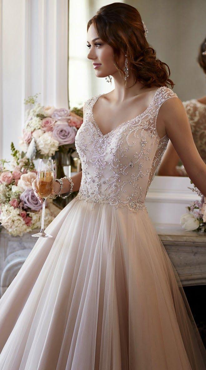 Stella York Spring 2015 Gelin Koleksiyonu - Belle Dergisi. Sofistike Gelin için Düğün Blog