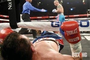 PHOTOS Miguel Cotto blitzes Daniel Geale in Brooklyn -   Boxing News - boxing news, results, rankings, schedules since 1909