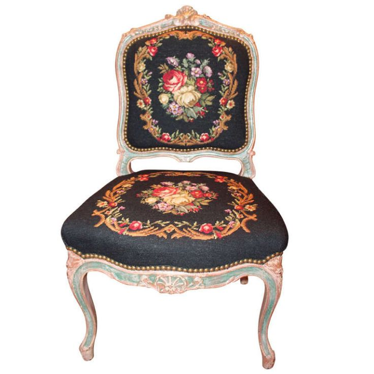 190 best berlin woolwork chairs stools images on pinterest. Black Bedroom Furniture Sets. Home Design Ideas