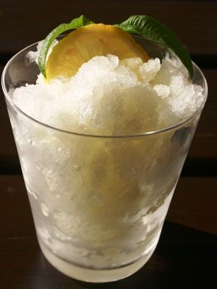 Lemon Granita Recipe from Sicily #ridecolorfully
