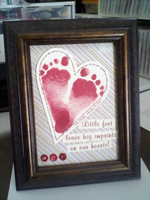 Little footprints...cute