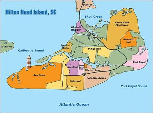 Hilton Head: shaped like a shoe! Shipyard and Palmetto Dunes are my favorite plantations to stay!