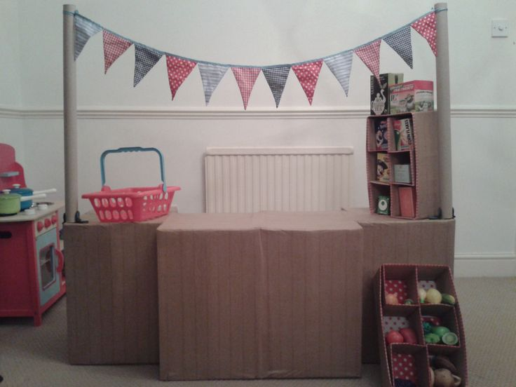 Shop made with a makedo kit and lots of tape