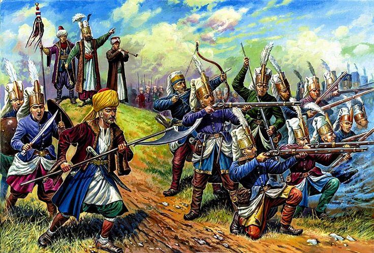 Janissaries, late 17th century