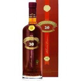 Ron Centenario Fundación XX Años er kendetegnet ved smagen af røget træ og noter af cognac.