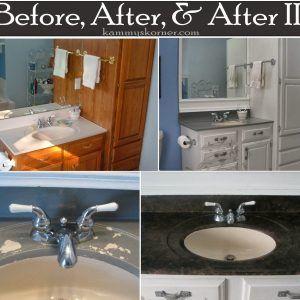 Redo Bathroom Vanity Countertop