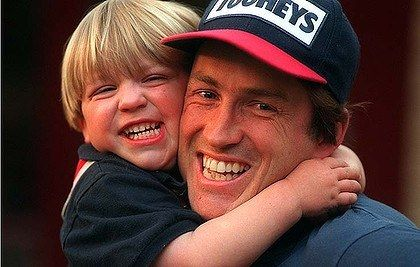 Todd Viney and son Jack