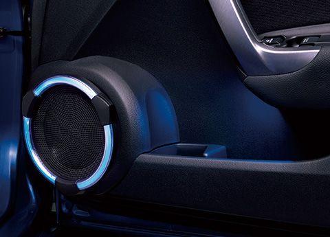 LEDスピーカーリング&ドアポケットイルミネーション