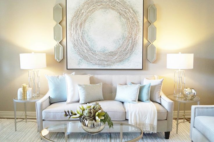 Living Room - Kimmberly Capone Interior Design