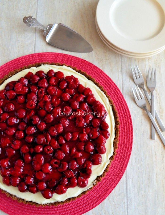 Recept om zelf MonChou taart te maken met bodem van bastogne koeken