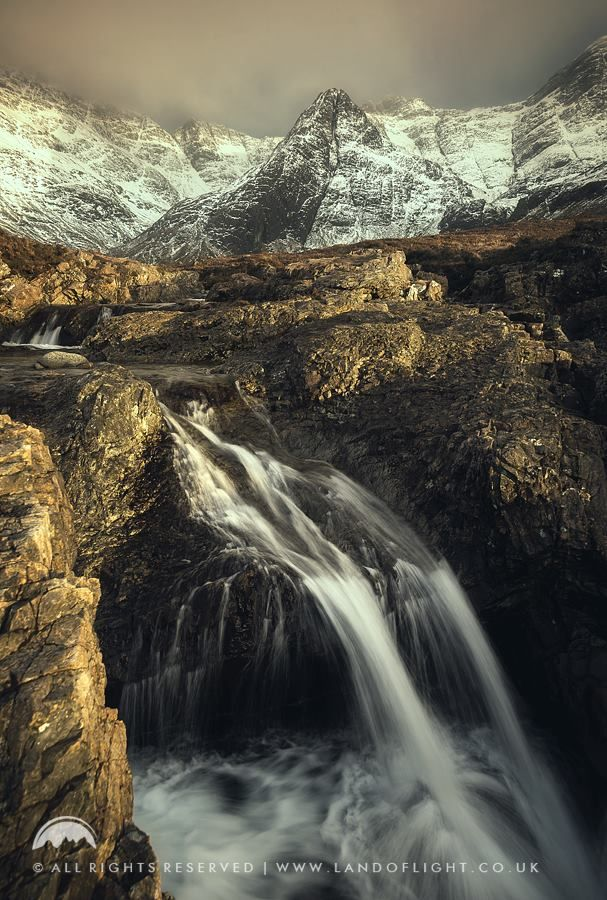 The Fairy Pools at Glen Brittle in December, Isle of Skye, Scotland