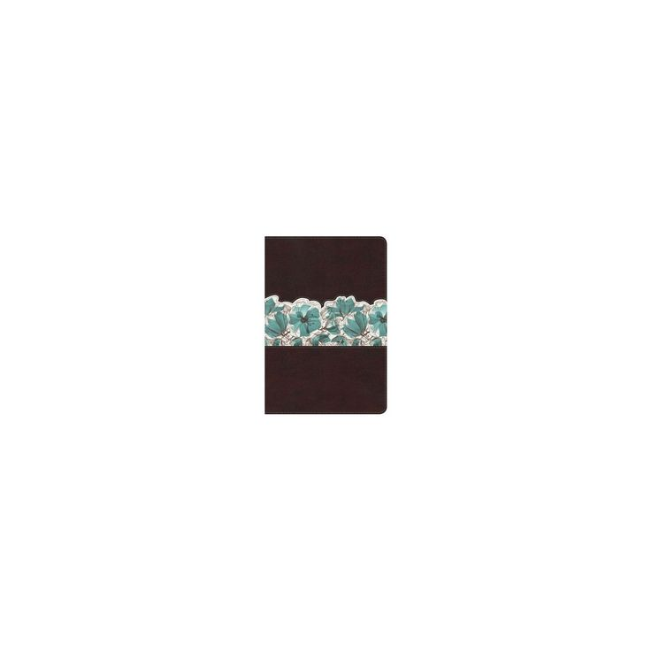 Holman Study Bible : New King James Version, Espresso / Teal, LeatherTouch, Personal Size (Indexed)