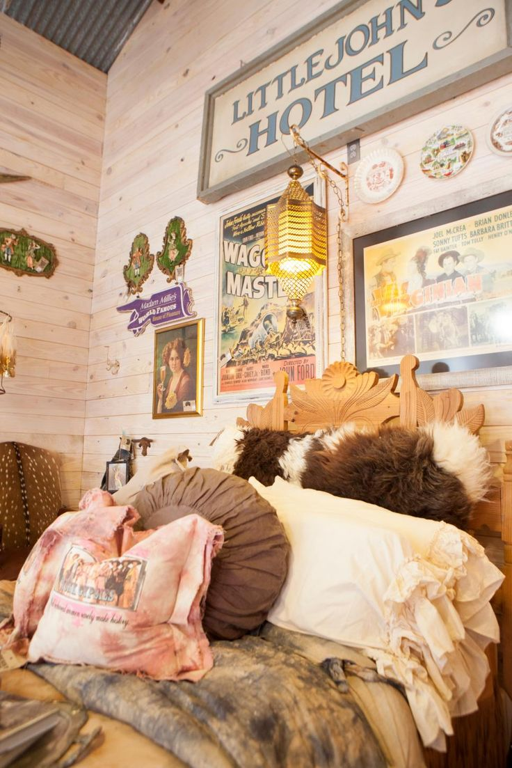 Great American Country takes you inside the eclectic Junk Gypsy shop in Round Top, Texas, to see some of the Western-chic goods that make it famous.