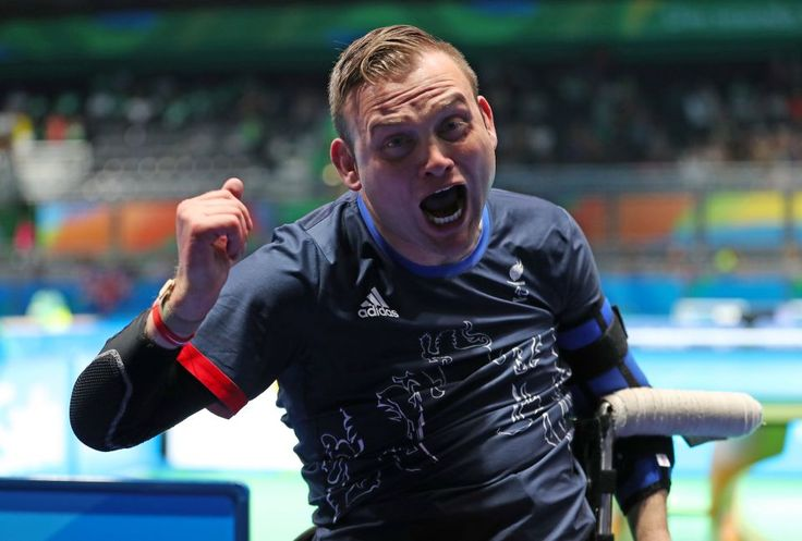 Great Britain's - gold Table Tennis  Singles - Class 1