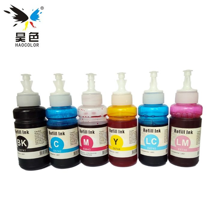 Cheapest prices US $15.85  70ml * 6 color Dye Ink Based on OEM of Refill Ink Kit For Epson L series Printer Ink Cartridge No. T6731/2/3/4/5/6  #color #Based #Refill #Epson #series #Printer #Cartridge  #OnlineShop