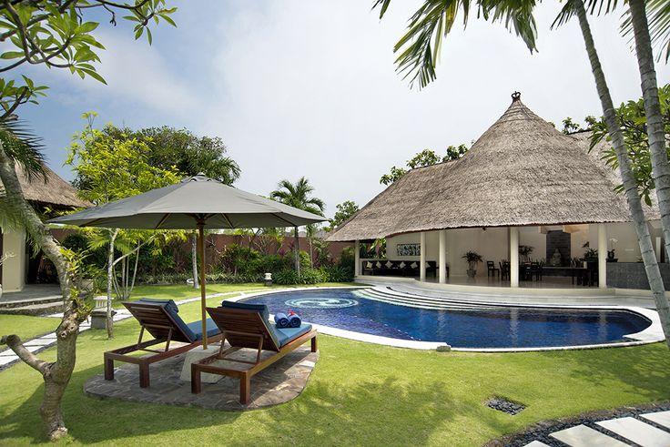 3 bedroom villa pool and garden #dusunvillas #bali