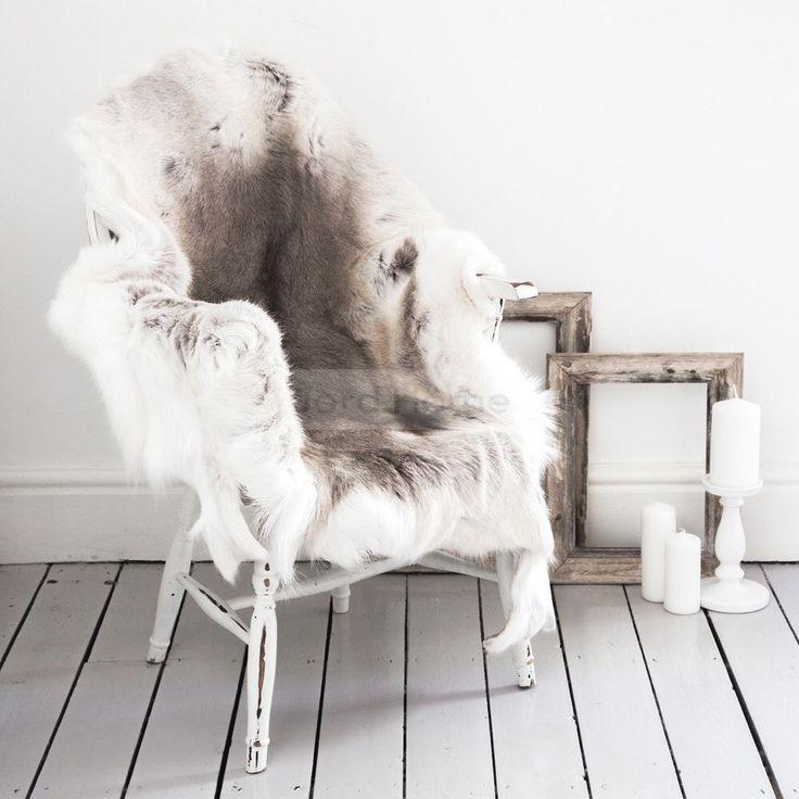 Reindeer Hide Rug & Throw - The Erva by JordHome on Etsy https://www.etsy.com/uk/listing/269134458/reindeer-hide-rug-throw-the-erva