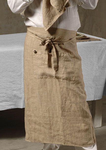 Bottoni & Asole apron - Bottoni & Asole grembiule