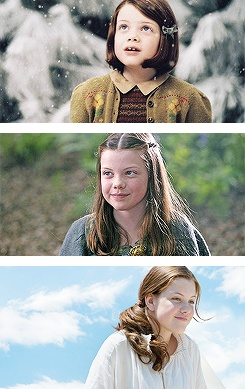 Narnia <3 ok so I heard this a lot that she looks a lot like me when I'm not wearing make up