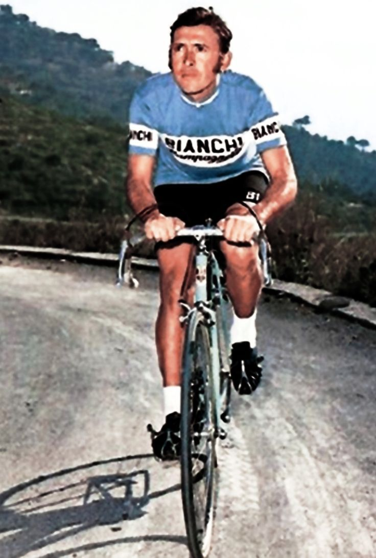 Martín Cochise Rodríguez, en la escuadra italiana Bianchi-Campagnolo.