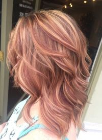 Caramel Amp Blonde Hair Color Ideas For Fall Winter 2017 2018 With Glowing Tones Of Brown