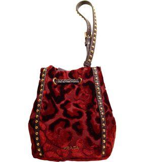 Prada velvet pouch. | Crafts | Pinterest