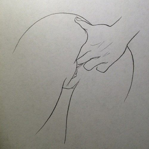 Two fingers deep #pussy #art #porn