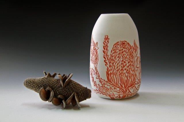 Banksia @rediscoverceramics