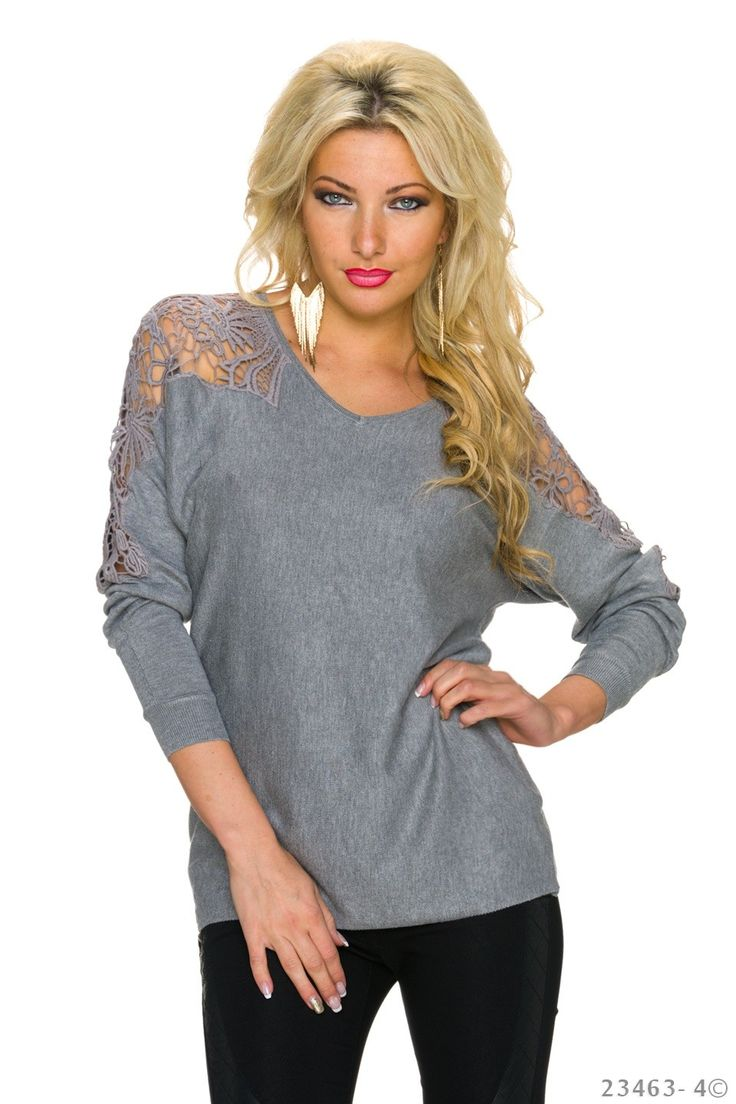 Be Yourself Grey Blouse