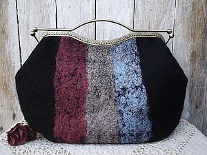 Как пришить фермуар к сумочке   Ярмарка Мастеров - ручная работа, handmade