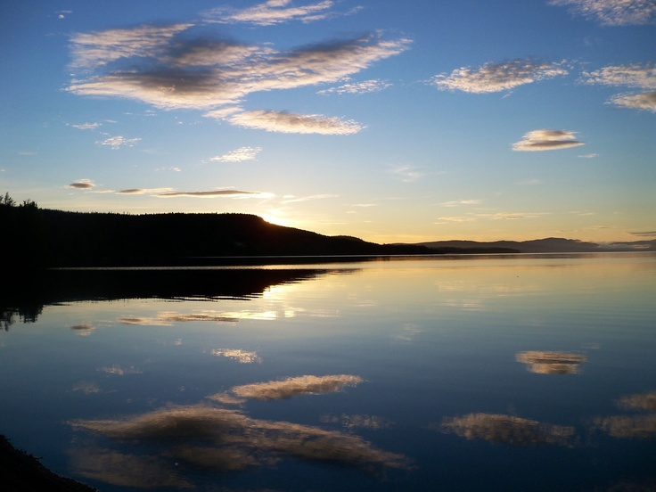 Francois Lake , B.C. Canada