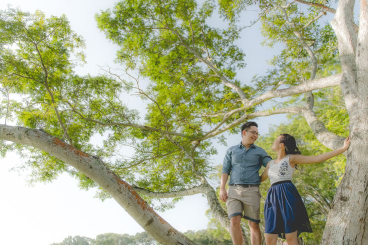 Pre wedding / engagement shoot @ Bedok Reservoir in Singapore!