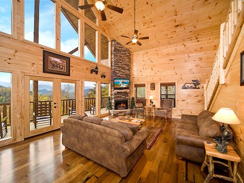 26 best images about theatre mountain lodge on pinterest for Luxury cabin rentals in gatlinburg tn