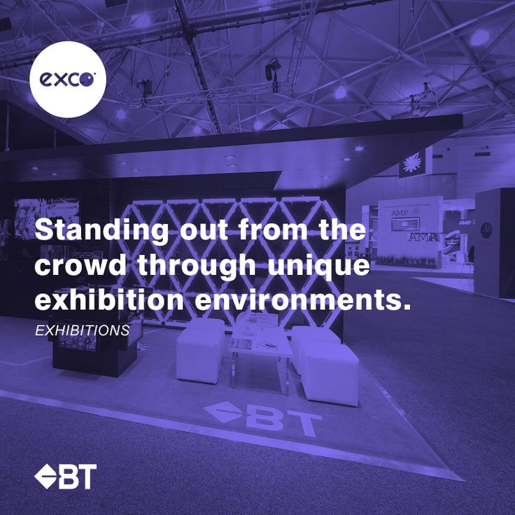 Stand out from the crowd and showcase your unique brand identity with creative exhibition displays.