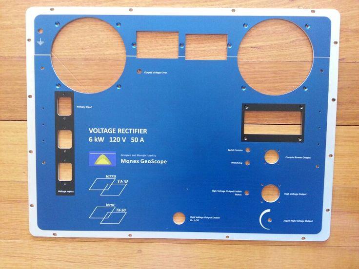 Instrment panel Aluminium color printed with UV cured inks MyChoice@Firebridge
