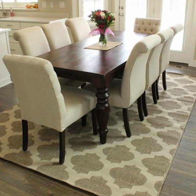 Best 25+ Rug Under Dining Table Ideas On Pinterest