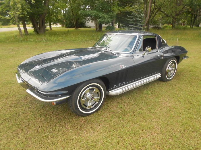 Used Classic Car For Sale in , Michigan: 1966 Chevy Corvette Coupe - Classics.VehicleNetwork.net Classified Ads