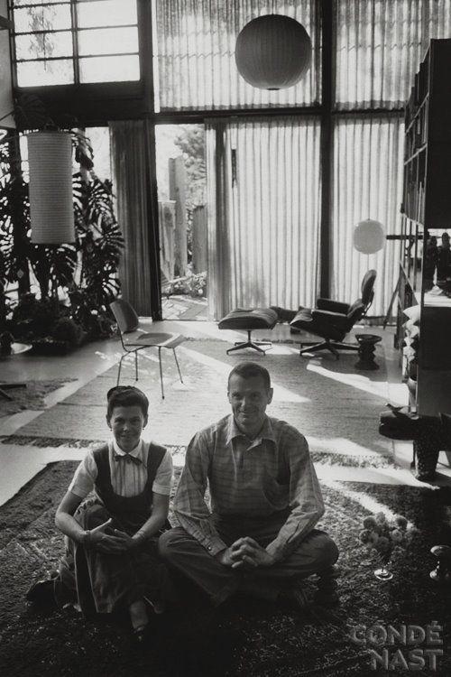 "Charles & Ray Eames. Charles Ormond Eames, Jr and Bernice Alexandra ""Ray"" (née Kaiser)"