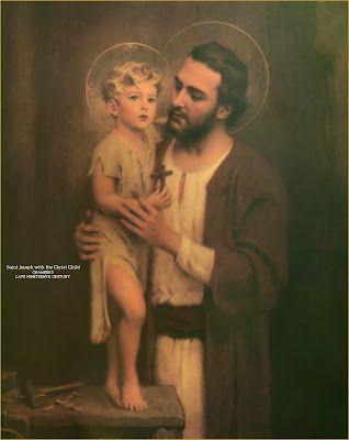 Sacred Art - Via beauty to Infinity: The Silence of St. Joseph