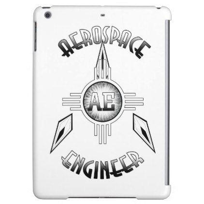 Aerospace Engineer Retro Cover For iPad Air - retro gifts style cyo diy special idea