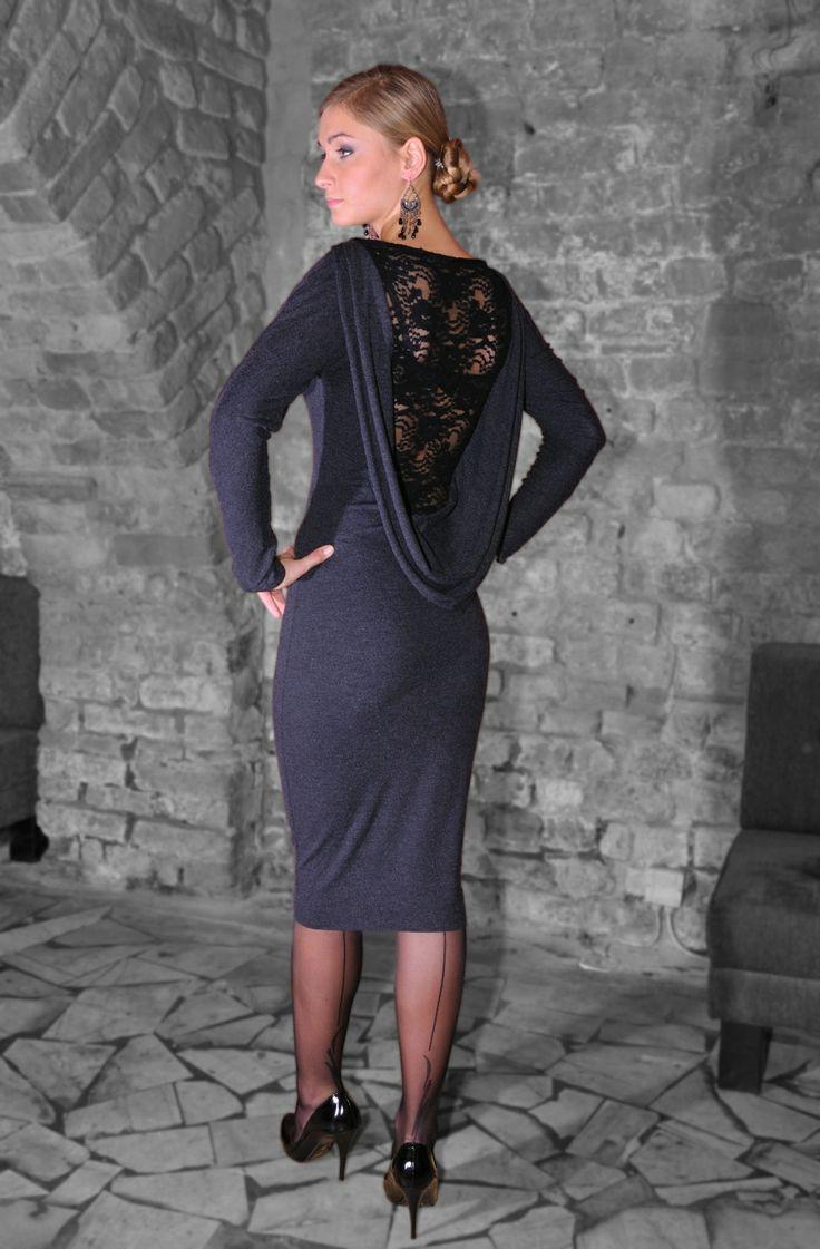 Elegancka sukienka EXCENTRICO La Belleza. Sklep internetowy ZebrasBOX.pl