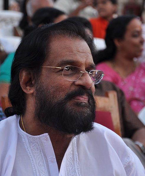 K.J. Yesudas, playback singer for South Indian film