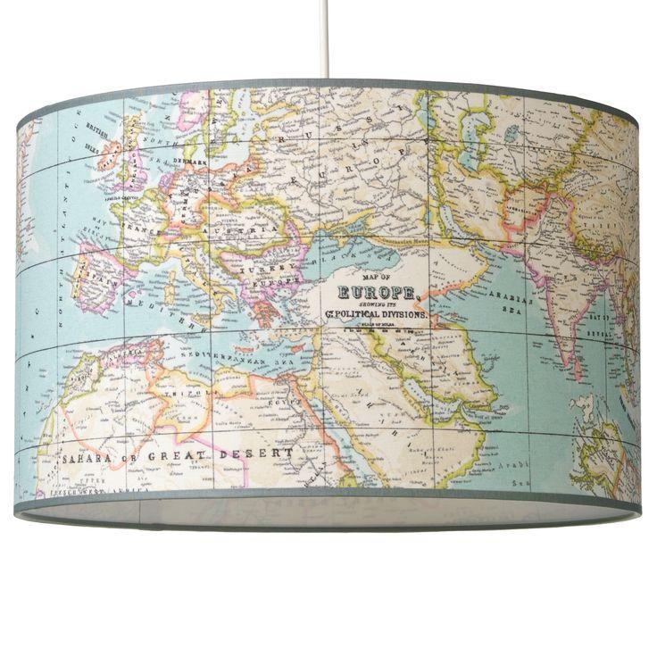 Hanglamp Landkaart   Saartje Prum