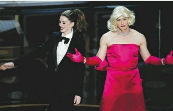 James Franco. Lol.: Oscars