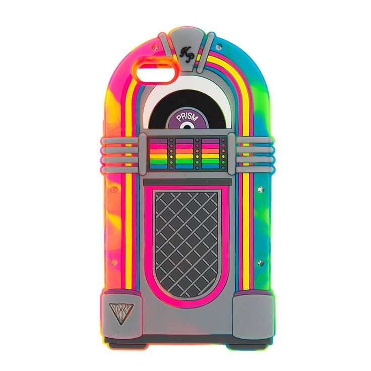 •Pinterest: @CierraLavalamp• Katy Perry 3D Light Up Neon Jukebox Cover for iPhone 6 and 6s | Claire's
