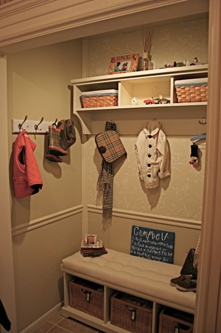Back Entry Hall Closet Kitchen Designs Decorating
