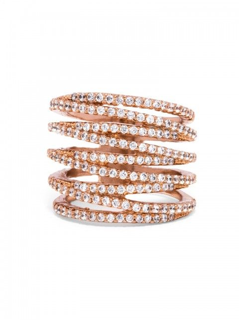 Ice Twister Ring