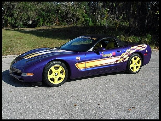 1998 Chevrolet Corvette Pace Car Edition ..... THIS WAS MY FIRST CAR♡♡♡♡♡ her name was lollipop